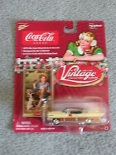 "Coke Brand #309-06""Vintage Collector's Edition"" 1:64 scale Lincoln Premiere #3"