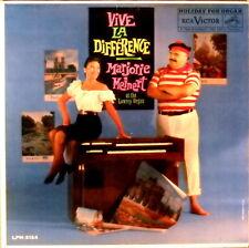 RCA 1s/1s Marjorie Meinert VIVE LA DIFFERENCE Lowrey Organ LPM-2124 EX+/NM-