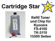 Nachfülltoner und Reset Chip für Kyocera FS-4100, TK-3110