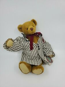 "1995 Artist Ganz Cottage Collectibles Teddy Bear Higgins by Lorraine W/tags 12"""