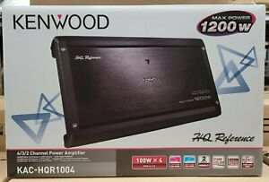 Kenwood KAC-HQR1004 Reference Series 1200 Watt 4-Channel Amplifier NEW