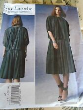 """VOGUE CREATION GUY LAROCHE JUPE BLOUSE AERIEN   T 42 A 50 N° 1372 (E5)"