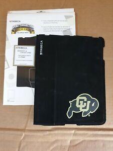 Colorado University Tribeca Apple iPad2 Folio CaseCover Electronic Suede Holder