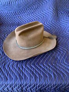 vintage stetson cowboy hat 1950s 6 7/8