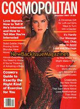 Cosmopolitan 12/83,Brooke Shields,December 1983,NEW