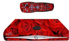 Red Roses Sticker/Skin SKY HD BOX & Remote controller/controll sticker, sk13