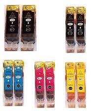 10x Patronen für CANON iP3600 iP4600 IP4700 MP540 MP550 MP580 MP620 MP630 MP640
