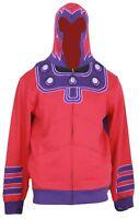 Marvel Comics Magneto Mens Zip Up Hoodie Sweatshirt - X-Men Villian Costume