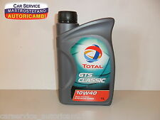OLIO MOTORE TOTAL GTS CLASSIC 10W40 - SYNTHETIC BASED
