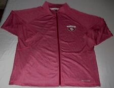 San Francisco 49ers Her Score Fashion Track Jacket Ladies 1XL Therma Base NFL