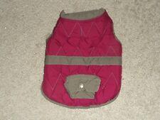 Adorable Boots & Barkley purple gray dog jacket size S