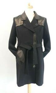 Ladies EVA KAYAN Belted Military Coat  Size: UK 16  EU 44