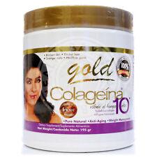 Collagen Colageno COLAGEINA 10 GOLD (195 gr) Hydrolyzed - 100% Original USA Made