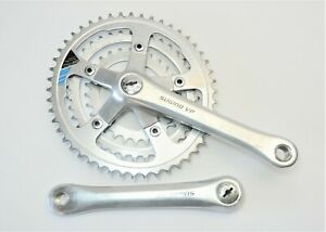 VINTAGE SUGINO VP BICYCLE 175 MM CYCLOID 48/38/28 TOOTH CRANKSET 110/74 MM BCD