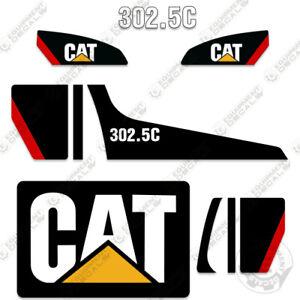 Caterpillar 302.5C Decal Kit Mini Excavator Decals Equipment Decals (302.5 C)