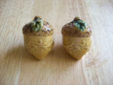 New ListingVintage Acorn Salt and Pepper Shakers: Brand New, Fast Shipping, U.S. Seller