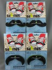 MOUSTACHE SHWINGS Wing Shoe Accessories Mo plain & glitter styles Movember