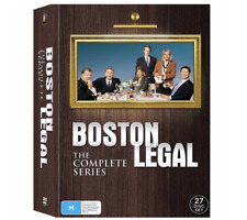 Boston Legal: The Complete Series (DVD,2009, 27-Disc Set)