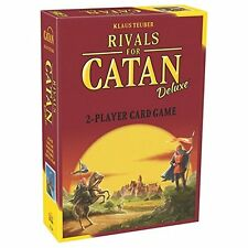 (NEW SEALED) KLAUS TEUBER  RIVALS FOR CATAN DELUXE CARD GAME PROMO CARDS