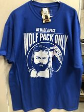 Hangover 2 We Made a Pact Wolf Pack Only Shirt size XL Brand New