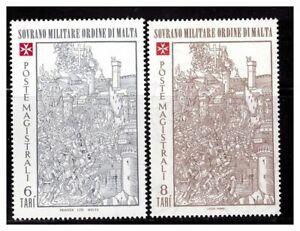 S23506) Smom 1980 MNH Siege Di Rodi (2^) Christmas 2v