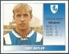 PANINI FOOTBALL LEAGUE 95 -#575-GILLINGHAM-TONY BUTLER