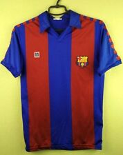 Barcelona jersey 1984 1989 Home Shirt meyba official soccer football size XP