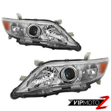{Factory Style} 2010-2011 Toyota Camry Chrome Bezel Headlight Replacement Lamp