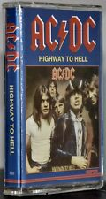 """AC/DC """"Highway To Hell"""" Rare Polish Cassette!"""