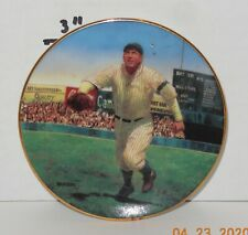 "Vintage Bradford Edition 1995 Legends of Baseball Tris Speaker 3 1/2"" Mini Plate"