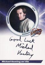 Blakes Blake's 7 Series 1 Michael Keating as Vila S1MK Variant Auto Card b