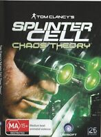 Pc Game - Tom Clancy's - Splinter Cell - Chaos Theory