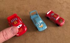 Cars Disney Pixar MINI lot action figures cake topper lightning dinoco