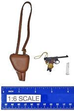 WWII IJA Lt. Sachio Eto - Nambu Pistol w/ Holster - 1/6 Scale - 3R Action Figure