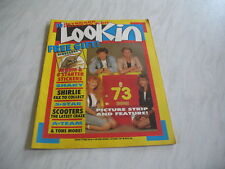 Look-In magazine Junior TV Times 1987 3 October No. 41 complete Shakin Stevens