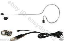 Black Omnidirectional Headset Condenser Microphone for Audio-Technica Detachable