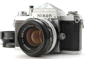 EXC/ NIKON F Eyelevel 641xxxx + NIKKOR-S.C AUTO 50mm F1.4 from Japan #1424