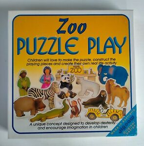 Vintage 1994 Zoo Puzzle Play. Children's Toy