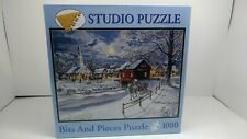 Bits And Pieces Puzzle 1000 Jess Hager Winter Sleigh