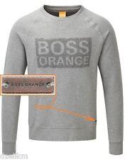 fa4bc988ae64 NWT Hugo Boss Orange Label By Hugo Boss LOGO Fleece Sweatshirt Size L