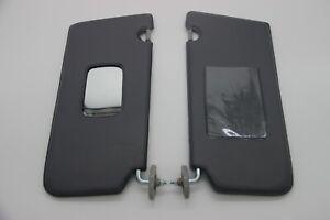Fits 89-96 Geo Tracker / Suzuki sidekick / Vitara  Sun Visor Set Gray