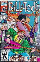 MARVEL COMIC #3 BILL & TED'S EXCELLENT COMIC #66786 BR1 D9