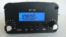 1W/7W FM Transmitter Stereo PLL Broadcast Radio Station+Antenna 76~108MHz
