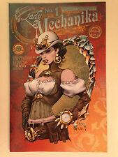 2013 LADY MECHANIKA 1 BIG BEN'S COMIX OASIS VARIANT COVER JOE BENITEZ ASPEN