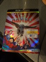 Dumbo 4k + Blu-Ray + Digital Code (with sleeve)