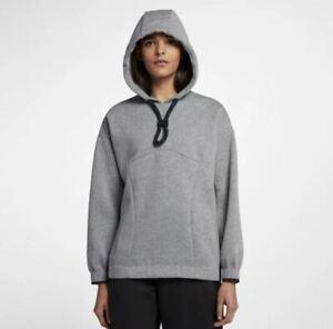 Nike NikeLab NRG NWCC Hoodie AH7228-091 Women's Size XS- Grey