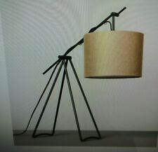 "New- Hearth & Hand with Magnolia 24"" Charcoal Tripod Table Lamp"