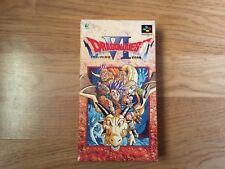 Dragon Quest VI Nintendo Super Famicom Japan Import NTSC-J