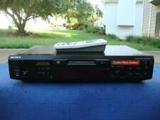 Awesome Sony Mds-Je530 MiniDisc Player Recorder + Remote (Tested)