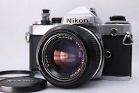 【Excellent+++++】 NIKON FE + NIkkor Ai 50mm F1.4 Lens + MF-12 from Japan